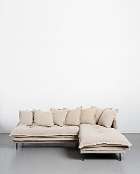 Marcello two-piece modular sofa