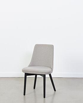 Roman dining chair - pewter