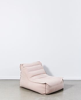 Marco slouch chair - dusty pink