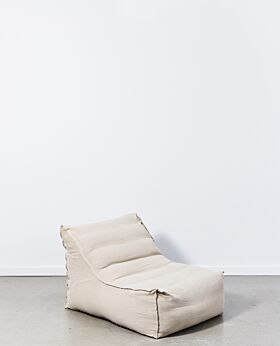 Marco slouch chair - sand