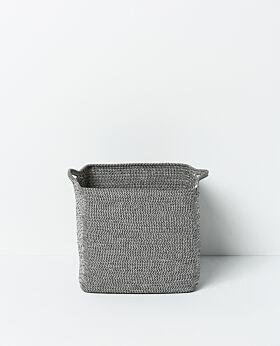 Sorrel storage basket - grey-black