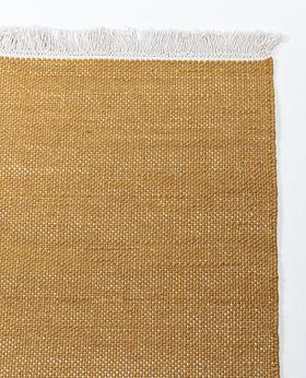 Spari wool rug - mustard