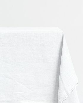 St Claire linen tablecloth - ecru