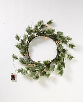 Sugar Pine LED wreath