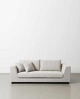 Trent three-seater sofa - clay