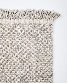 Vatu 100% NZ wool rug - oat