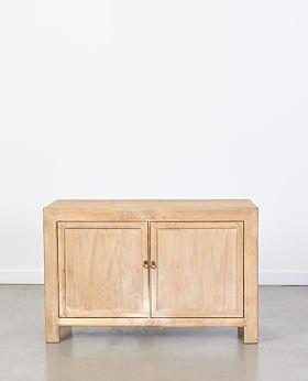 Vecchio two door cabinet - natural