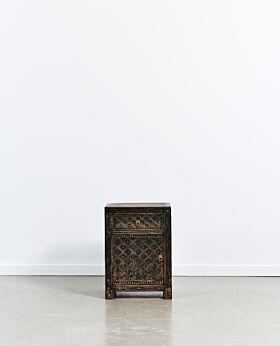 Vecchio bedside cabinet left door - vintage black