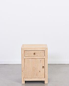 Vecchio bedside cabinet left door - natural