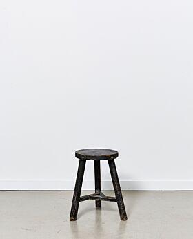 Vecchio round stool - black