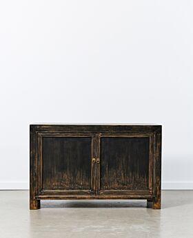 Vecchio two door cabinet - vintage black