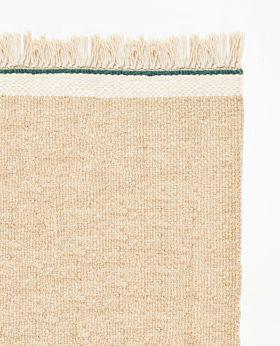 Pastello handwoven wool rug - beach sand