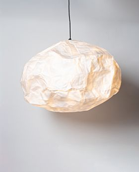 Yumi paper cloud pendant - white oval