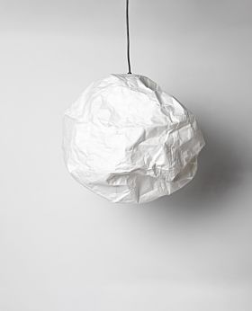 Yumi paper cloud pendant - white sphere