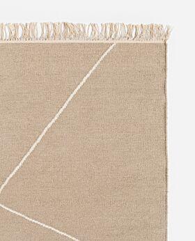 Zadie wool rug - sand