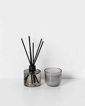 Zero˚ candle & diffuser set - black