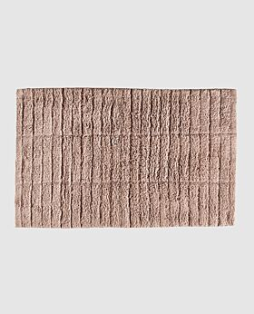 Zone tiles bath mat - nude