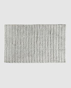 Zone tiles bath mat - soft grey