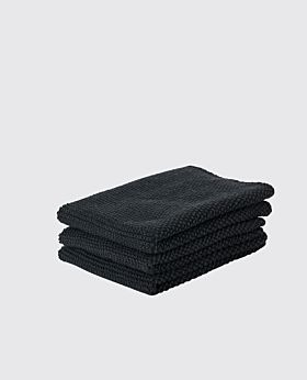 Zone dish cloth - black