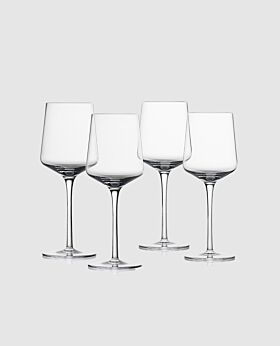 Zone rocks white wine crystal glass - set of 4