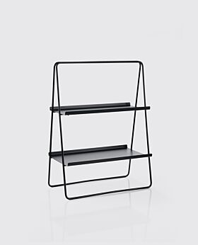 Zone Solo shelf unit - black