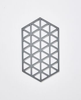 Zone trivet large - cool grey