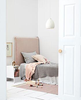 Marco bedhead - dusty pink