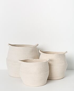 Quincey cotton rope basket