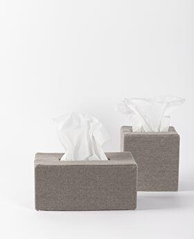 Tela canvas tissue box - grey