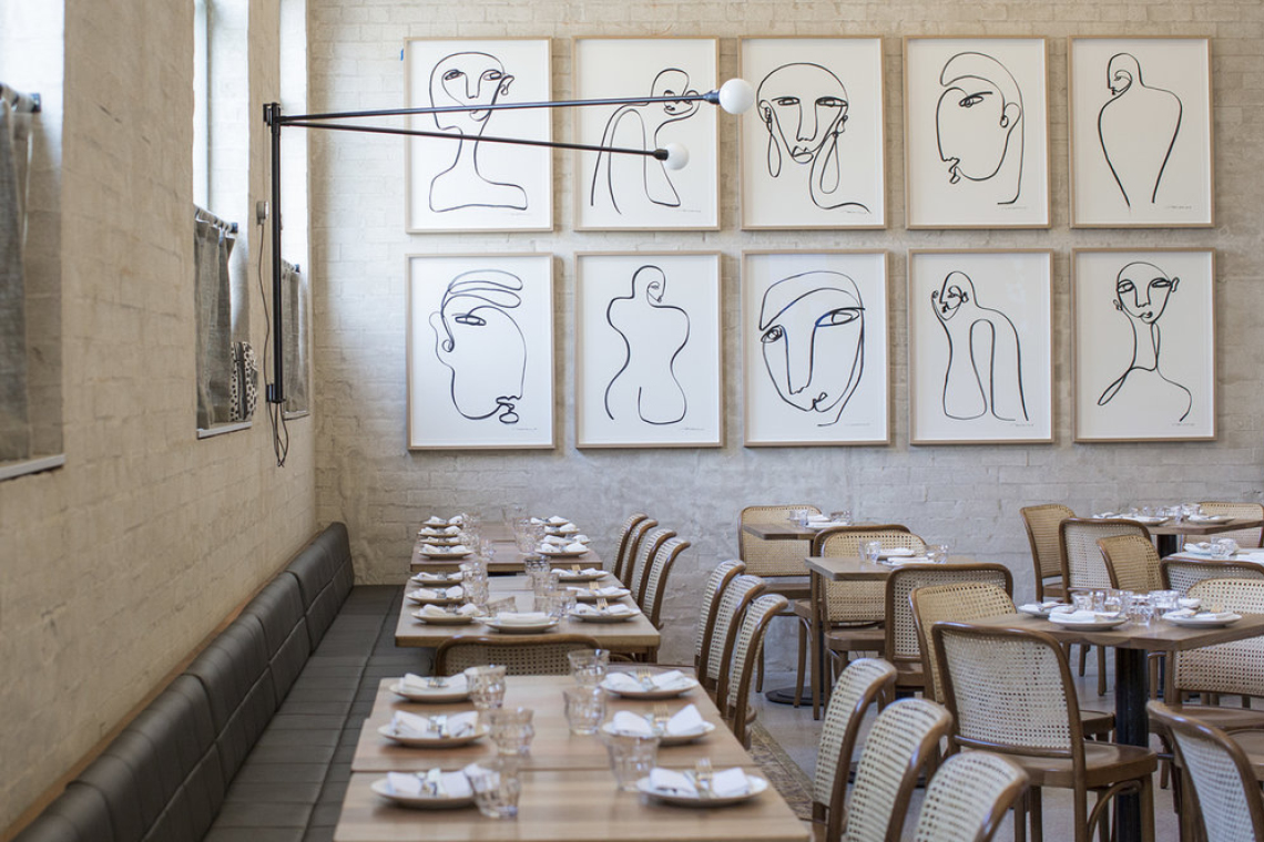 Sydney: Eateries for the Interiors (of the East)